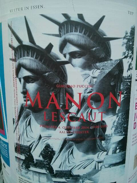Manon Lescaut und die Freiheitsstatue